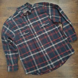 Moose Creek Brawny Heavyweight Logger Shirt Sz L